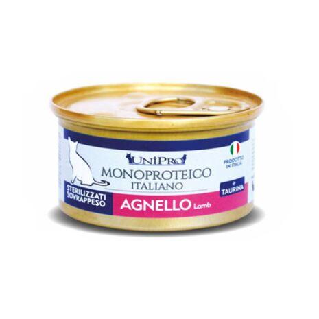 Unipro Κονσέρβα Μονοπρωτεϊνική Sterilized με Αρνί 85gr