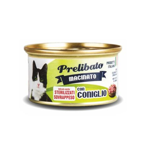 Unipro Κονσέρβα για Στειρωμένες Γάτες με Κουνέλι 85gr