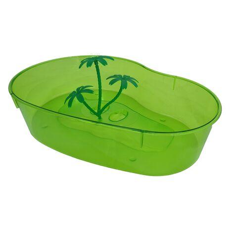 Πλαστική Χελωνιέρα Πράσινη 40x28x9,5cm