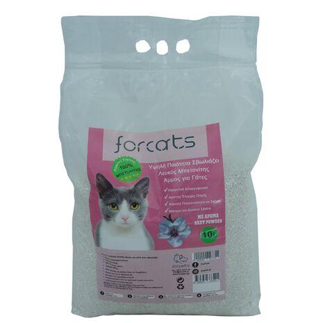 Άμμος Γάτας Forcats από Μπετονίτη Baby Powder