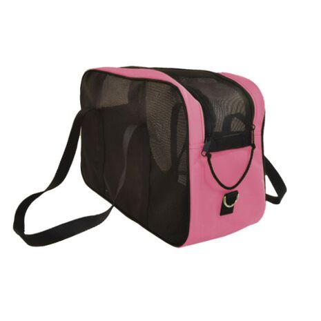 Τσάντα Μεταφοράς Αδιάβροχη Διάτρητη Ροζ