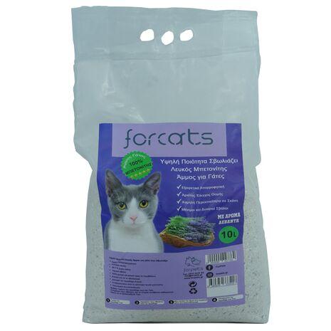 Άμμος Γάτας Forcats από Μπετονίτη με Άρωμα Λεβάντας