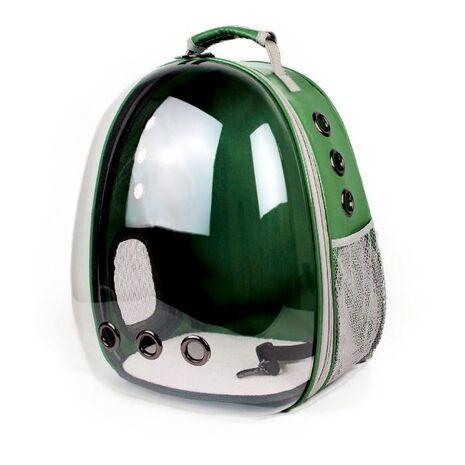 Σακίδιο Πλάτης για Κατοικίδια Πράσινο 31x28x42cm