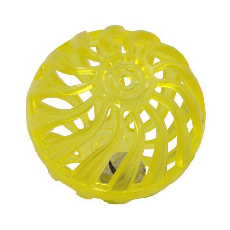 Κλουβί με Καμπανάκι Κίτρινο 4cm