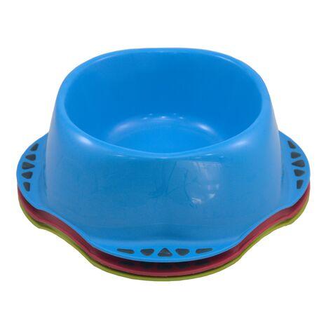 Μπολ Φαγητού Maya Σκύλου με Καουτσούκ Μπλε