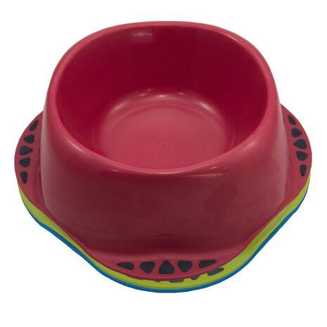 Μπολ Φαγητού Maya Σκύλου με Καουτσούκ Κόκκινο