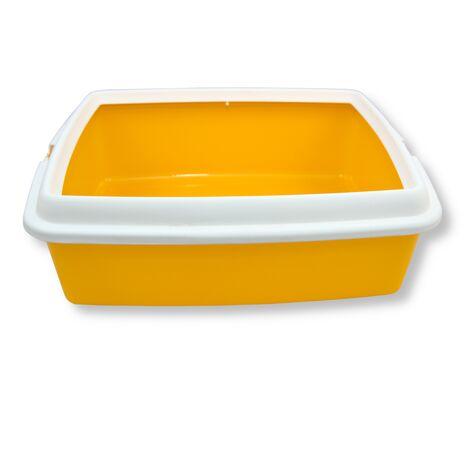 Τουαλέτα Γάτας MPS Hydra Con Cornice Κίτρινο