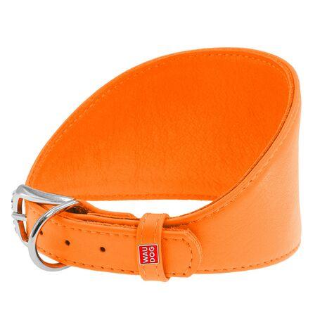 Collar Περιλαίμιο Δερμάτινο Πορτοκαλί