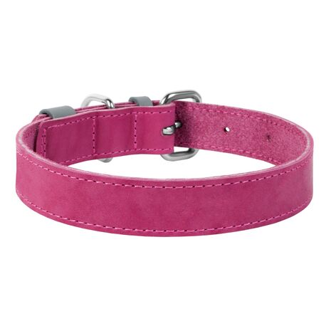 Collar Περιλαίμιο Δερμάτινο Ροζ
